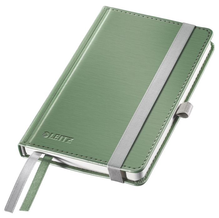Kniha záznamní Leitz Style - A6 / zelenkavá