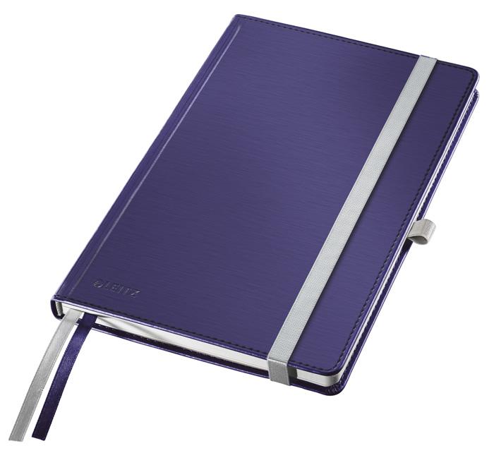 Kniha záznamní Leitz Style - A6 / titanově modrá
