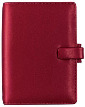 Diář Filofax Metropol - osobní / 95 x 171 mm / červená