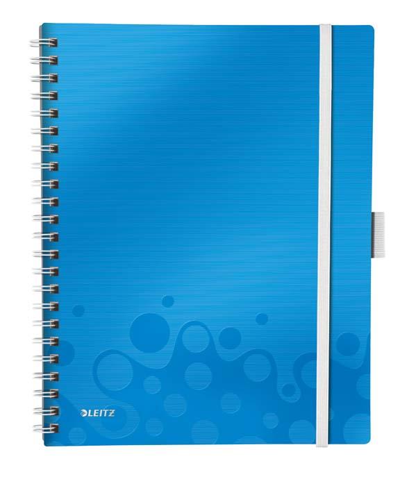 Mobilní blok WOW A4 - A4 / linka / modrá