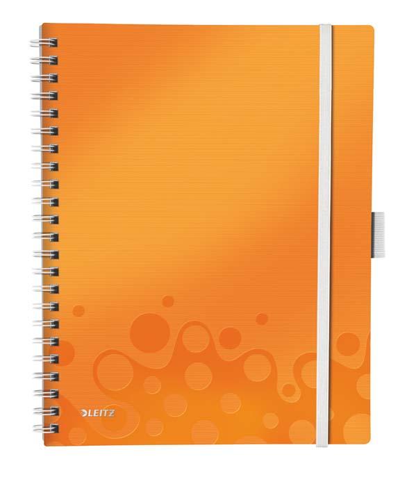 Mobilní blok WOW A4 - A4 / linka / oranžová