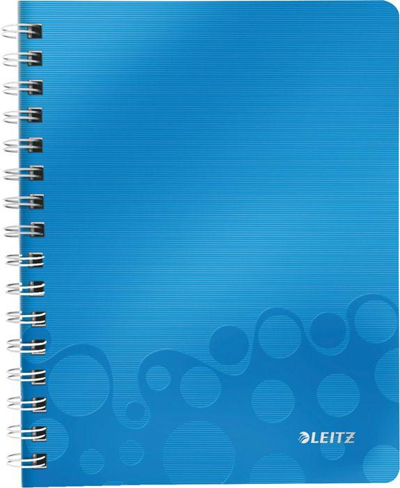 Blok Leitz WOW A4 - A4 / linka / modrá
