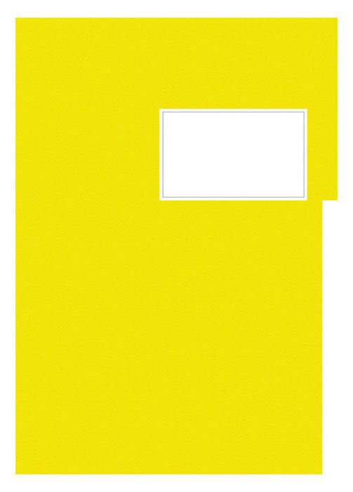 Studentský speciál - A4 / náplň žlutá - linka / 50 listů