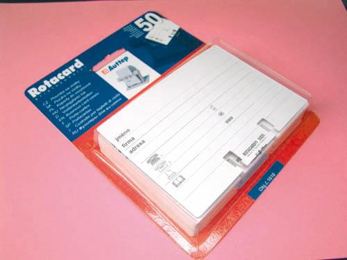 Náplň do Rotacardu - náhradní kartičky / 50 ks