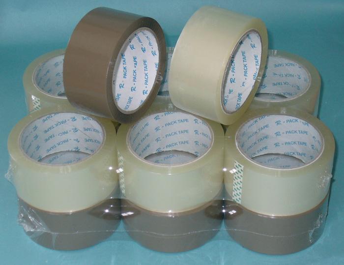 Balicí pásky NEHLUČNÉ - 48 mm x 66m / hnědá