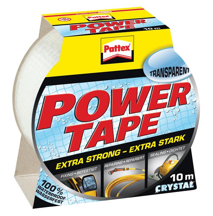 Lepicí pásky Pattex Power tape - transparentní