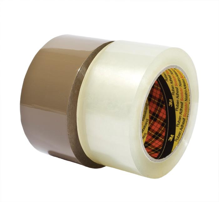 Balicí pásky Scotch NEHLUČNÉ - 38 mm x 66 m / hnědá