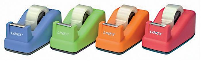 Stolní odvíječ lepicí pásky Bantex - limetkově zelená