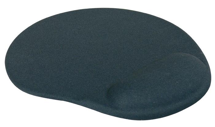 Podložka pod myš gelová LOGO - černá