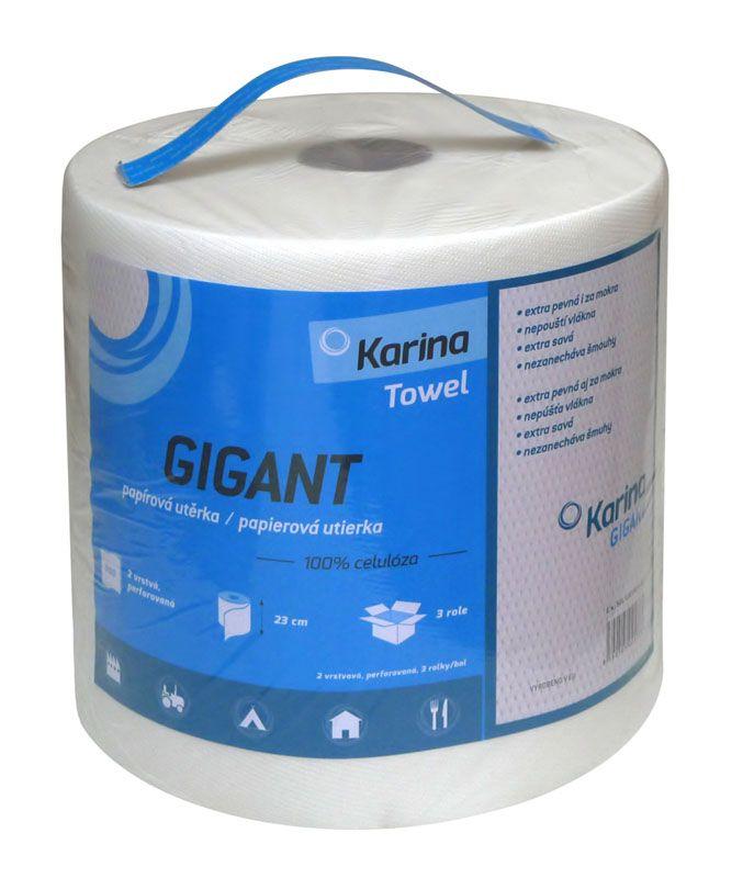 Utěrka papírová Gigant - 132m / 1000 g
