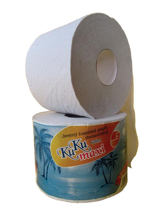 Toaletní papír KuKu - 1000 útržků