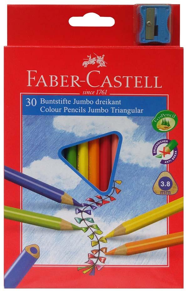 Pastelky Junior TRIANGULAR - 30 barev