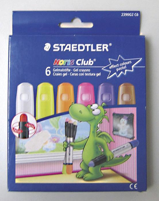 Voskové pastelky gelové Staedtler - zářivé barvy