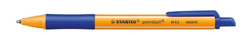 Kuličkové pero STABILO pointball - modrá