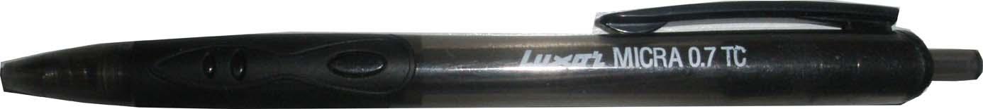 Kuličkové pero Luxor Micra - černá