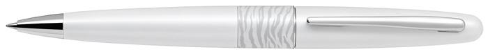 Kuličkové pero Middle Range 2 - bílá / tygr