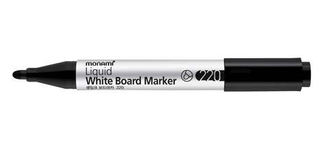 Popisovač Monami Whiteboard 220 - černá