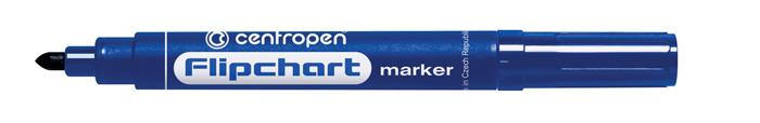 Značkovač Centropen 8550 Flipchart - modrá