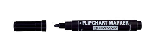 Značkovač Centropen 8550 Flipchart - černá