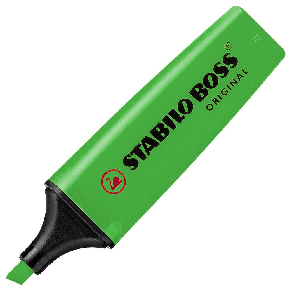 Zvýrazňovač Stabilo Boss Originál - zelená