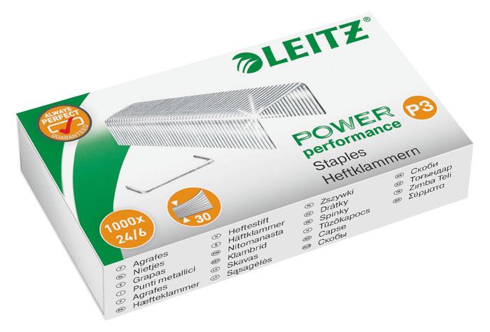Spojovače Leitz - 24 / 6 / 1000 ks