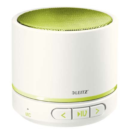 Přenosný Bluetooth mini reproduktor Leitz Complete WOW - zelená