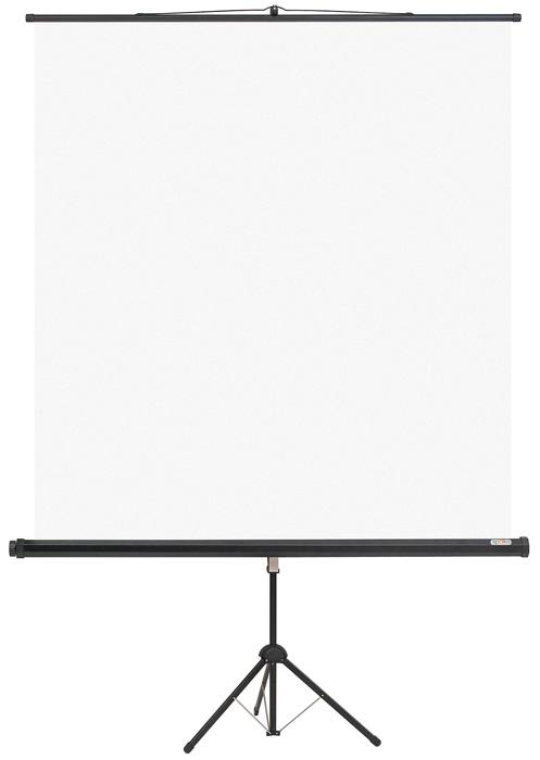 Promítací plátno na trojnožce - 108 x 147 cm