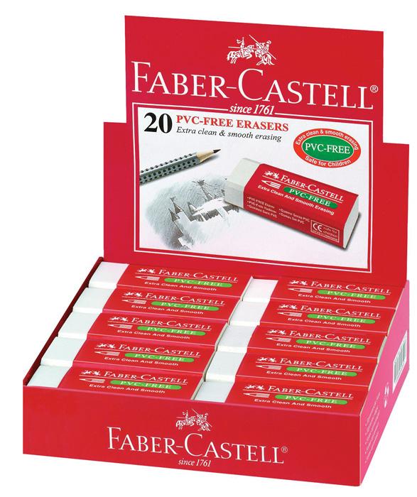 Pryže Faber - Castell - bílá