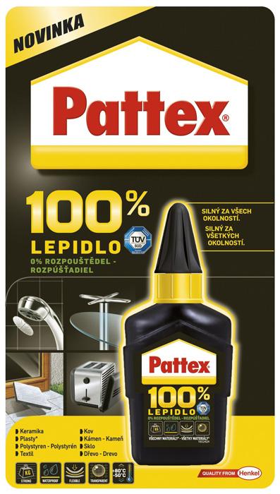 Lepidlo Pattex 100% - 50 ml