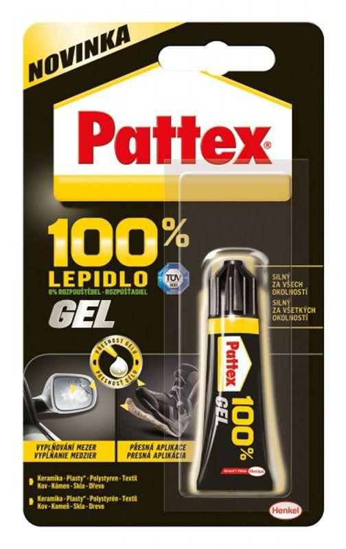 Lepidlo Pattex 100% - 8 ml