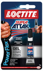 Vteřinová lepidla Loctite  - Super Attak Power gel 3 g