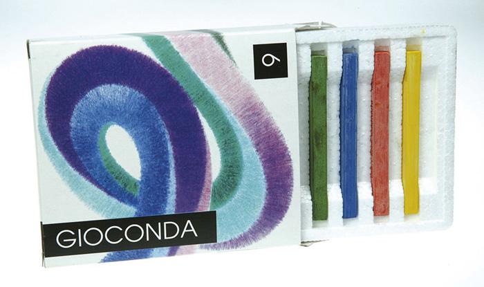 Křídy mastné Gioconda - 6 barev