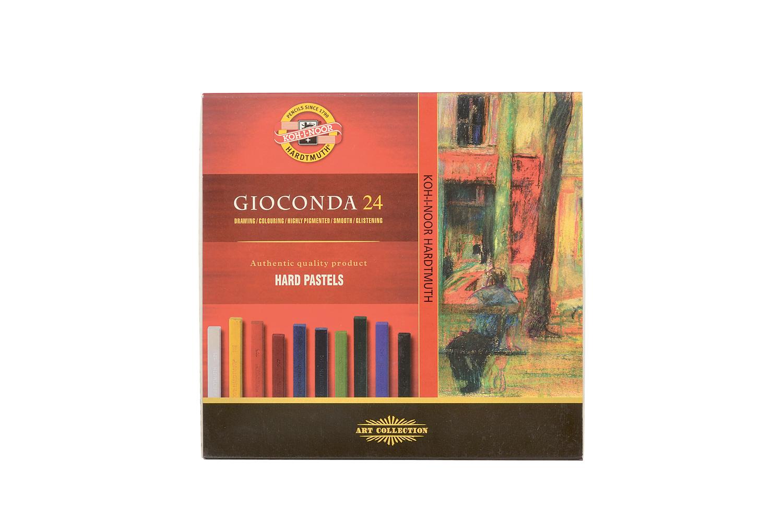 Křídy mastné Gioconda - 24 barev