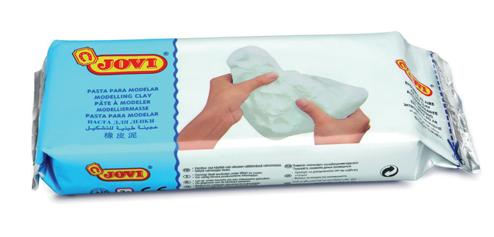 Modelovací hmota JOVI - bílá / 500 g