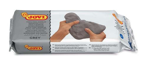 Modelovací hmota JOVI - šedá / 500 g