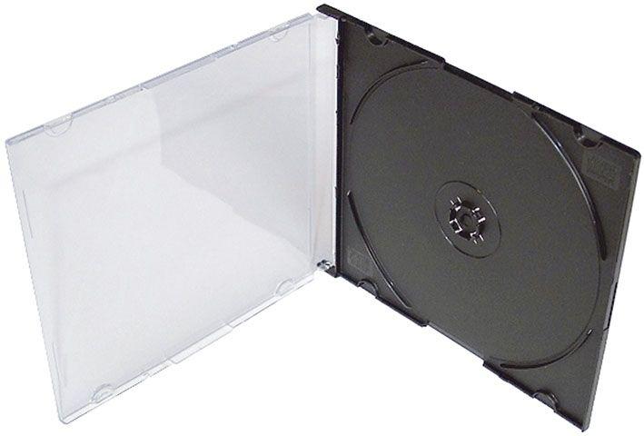 Krabičky na CD a DVD - krabička na CD slim / 1 ks