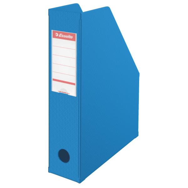 Stojan na spisy Economy - modrá / hřbet 70 mm