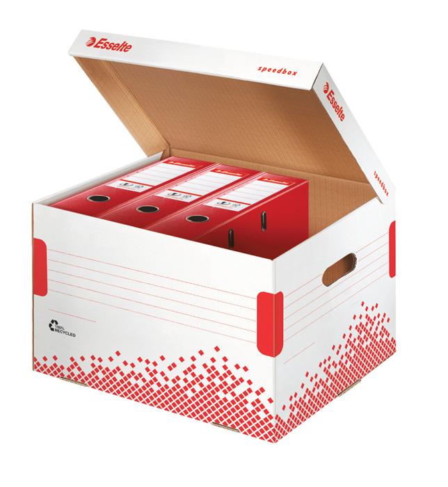 Archivní boxy a kontejnery Esselte Speedbox - kontejner archivní / na pořadače
