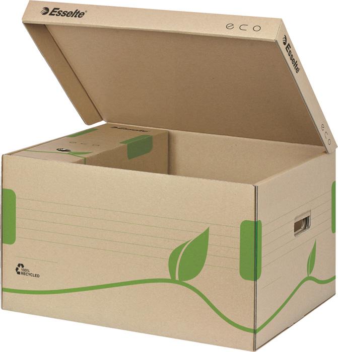 Archivní boxy a kontejnery Esselte ECO - kontejner archivní / na pořadače / s víkem