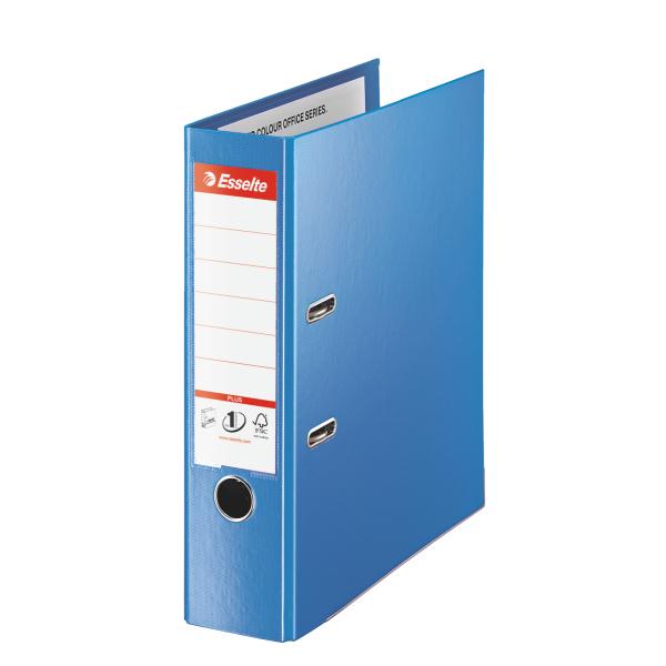Pořadač A4 pákový celoplastový Vivida PLUS - hřbet 8 cm / modrá