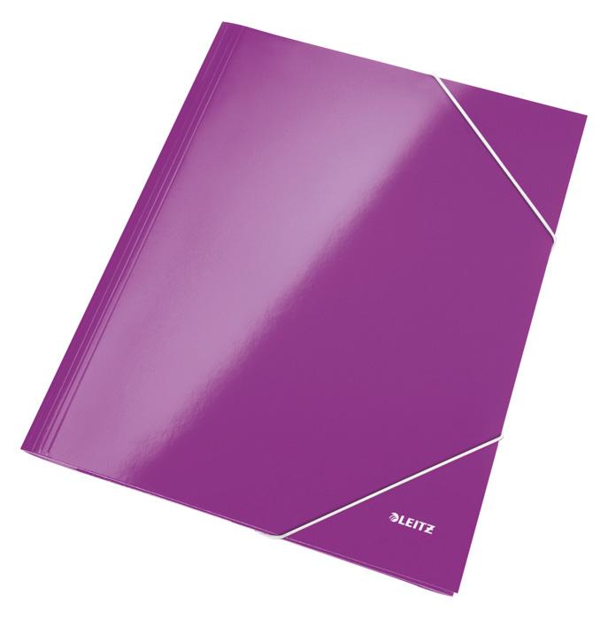 Spisové desky Leitz WOW - fialová