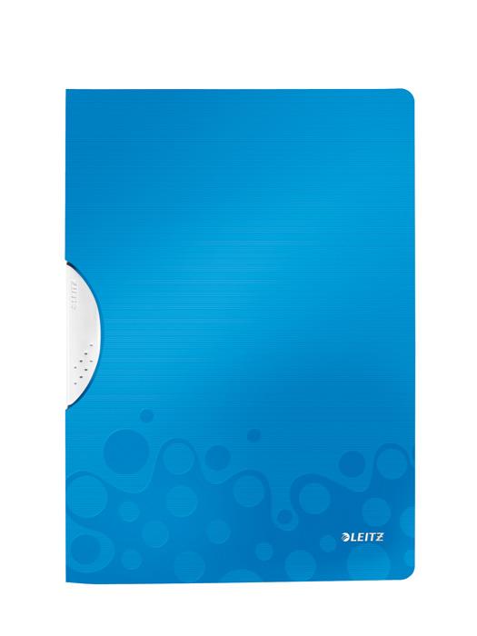 Desky s klipem Leitz WOW - modrá