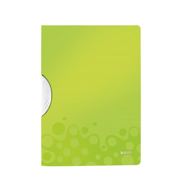 Desky s klipem Leitz WOW - zelená