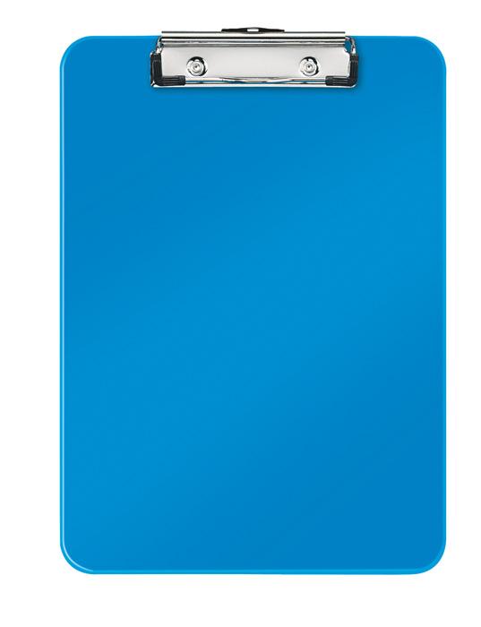 Podložka A4 s klipem Leitz WOW - modrá