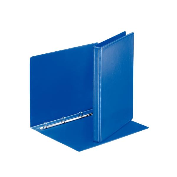 Pořadač A4 kroužkový prezentační - hřbet 3 cm -4 - kroužek / modrá