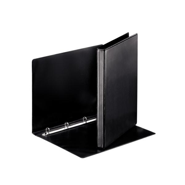 Pořadač A4 kroužkový prezentační - hřbet 3 cm -4 - kroužek / černá