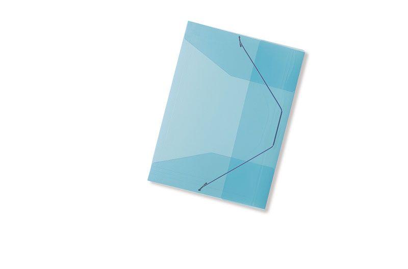 Spisové desky A4 s gumou Concorde - modrá