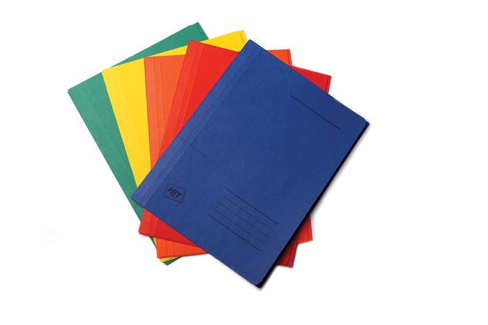 Odkládací mapy 253 FLEXI Mater - 6 ks / barevný mix