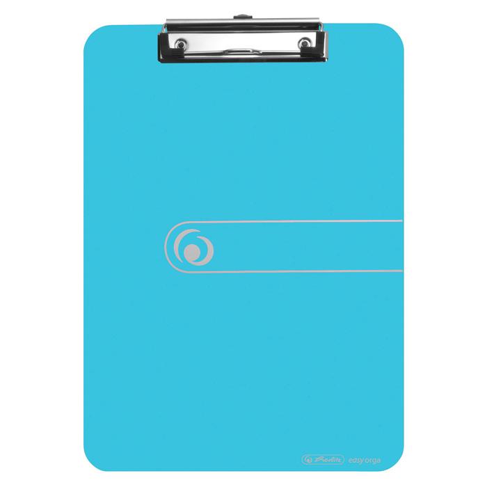 Podložka A4 s klipem easy orga - modrá transparentní