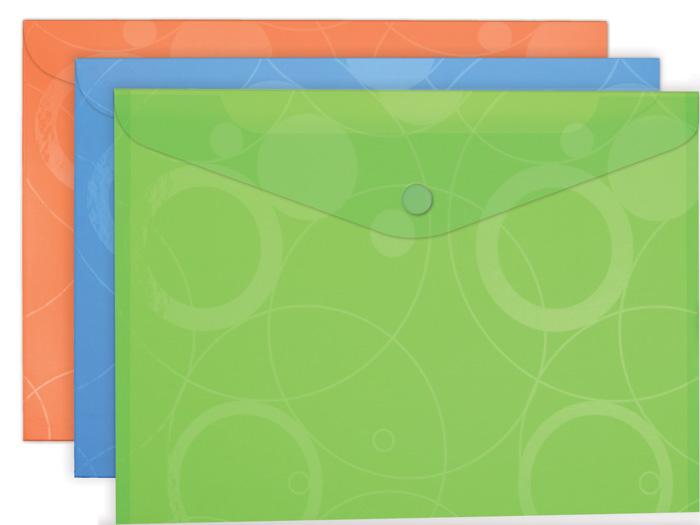 Spisové desky s drukem A4 NeoColori - oranžová
